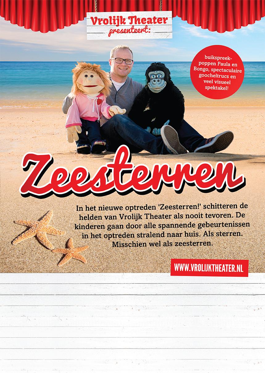 Zeesterren-poster